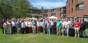Die Teilnehmer der Ehrenamtlichen-Schulung der Deutschen Tinnitus-Liga e. V. trafen sich in Bonn-Bad Godesberg; Foto: Sabine Wagner